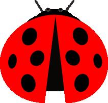 Serangga ini dibuat dengan berbagai bentuk lingkaran. Mayoritas lingkaran tapi ada juga perseginya sih :D