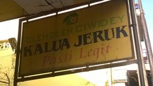Kalua Jeruk di Ciwidey