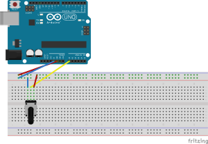 Breadboard dari Circle Blue
