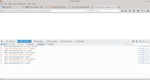 Mencoba console.time() di Firefox